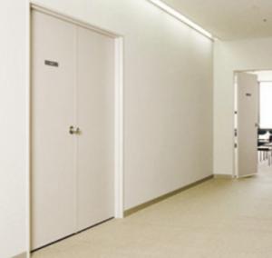 事務所ビル内EPSの扉の画像