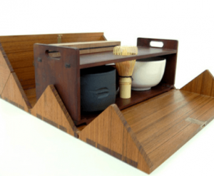 千利休が考案したと言われる茶道具セットの画像