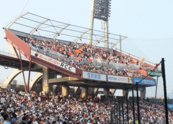 マツダスタジアムのシンボル「パフォーマンス席」の画像