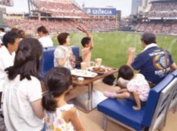 マツダスタジアムのプレミアムテラスの画像