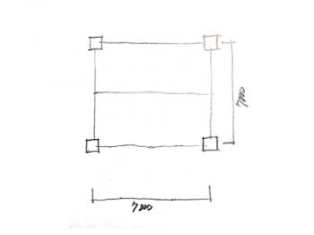 一級建築士製図試験で階段を早く書く方法02