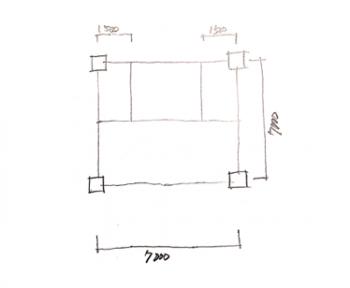 一級建築士製図試験で階段を早く書く方法03