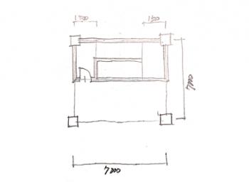 一級建築士製図試験で階段を早く書く方法04