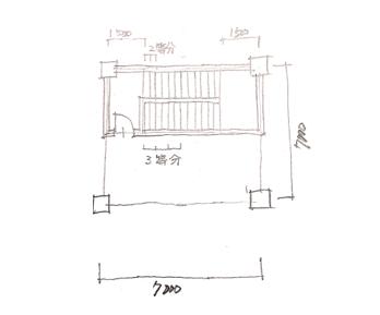 一級建築士製図試験で階段を早く書く方法07
